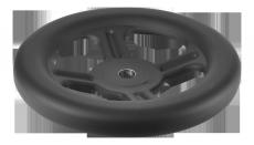 E+G GN 227.1 udstanset håndhjul