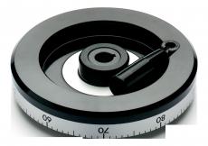 E+G VDG+IR håndhjul duroplast